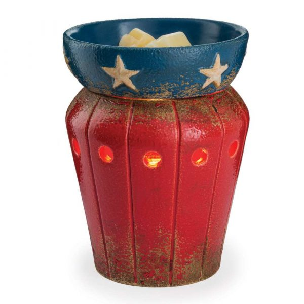 Americana Red White & Blue Wax Warmer