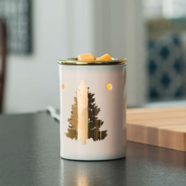 Golden Fir Wax Warmer Seventh Avenue Candles