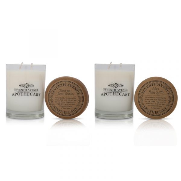 Signature Glass 2-Pack: Cider + Mulled Spices and Bonfire + Spun Sugar