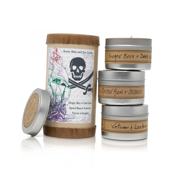 Pirate-Themed Mini Stack Gift Tube