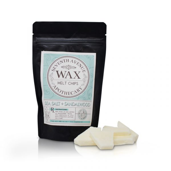Sea Salt + Sandalwood Wax Melt Chips