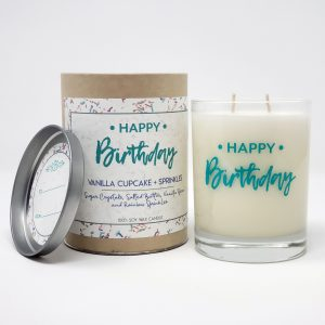 happy birthday candle gift