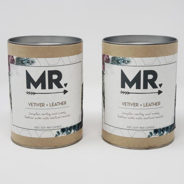 Mr and Mr Candle set