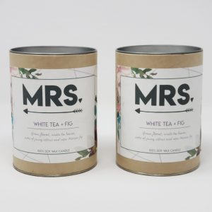 Mrs and Mrs gift tubes
