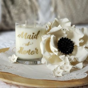 Maid of Honor Candle