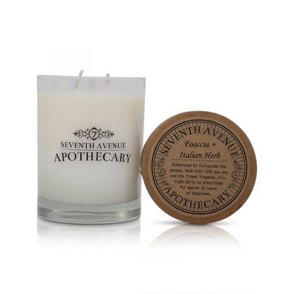 Focaccia + Italian Herb Limited Edition Soy Wax Candle