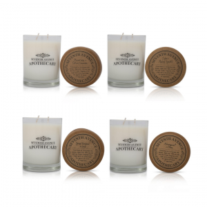 soy wax candles fall four pack