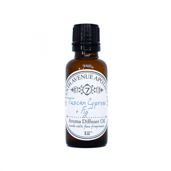 Tuscan Cypress + Fig Aroma Oil