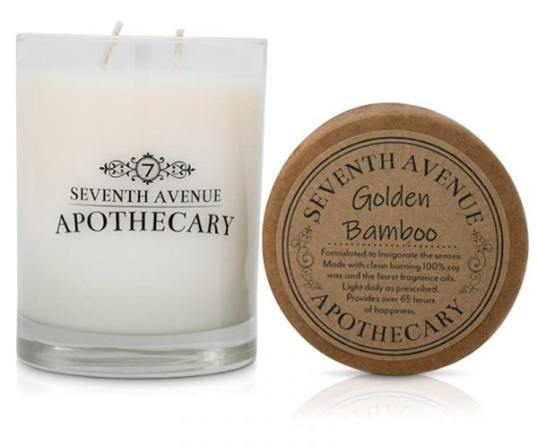 Golden Bamboo Soy Wax Candle