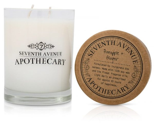 Pineapple + Ginger Soy Wax Candle