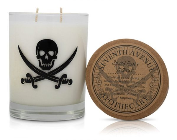 Spiced Rum+ Coconut Soy Wax Candle