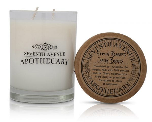 Fresh Roasted Coffee Beans Soy Wax Candle